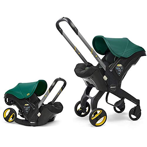 Doona Infant Car Seat & Latch Base – Racing Green – US Version