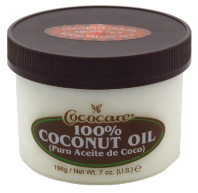 Cococare 100% Coconut Oil 7 Ounce Jar (207ml) (3 Pack)