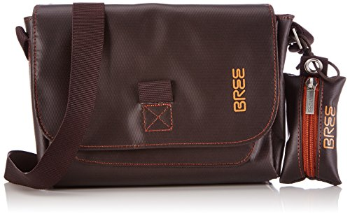 BREE Punch 701 - Bolso cruzados para mujer negro negro talla única marrón - Braun (mocca 880)