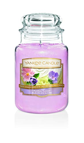 Floral Candy - Yankee Candle Candle, Floral Candy, Large Jar