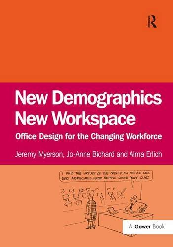 New Demographics New Workspace  Office Design For The Changing Workforce