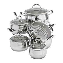 Lagostina Padova Cookware Set, 11-pc