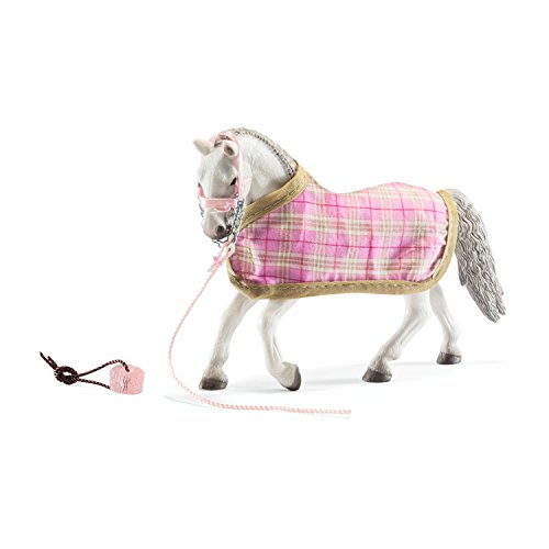 SCHLEICH Lipizanner Mare with Blanket Toy, Multicolor
