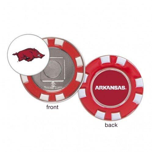 Arkansas Razorbacks Ball Marker Challenge Coin Poker Chip Metal