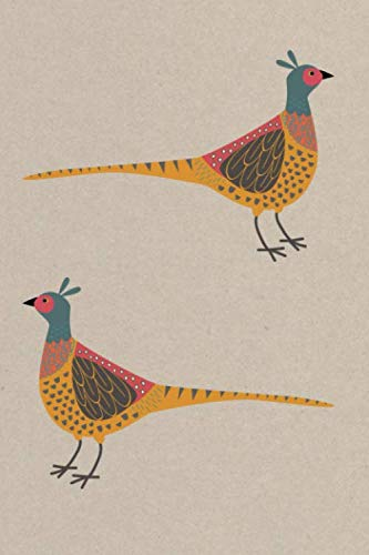Notes: A Blank Sketchbook with Pheasant Game Bird Cover Art