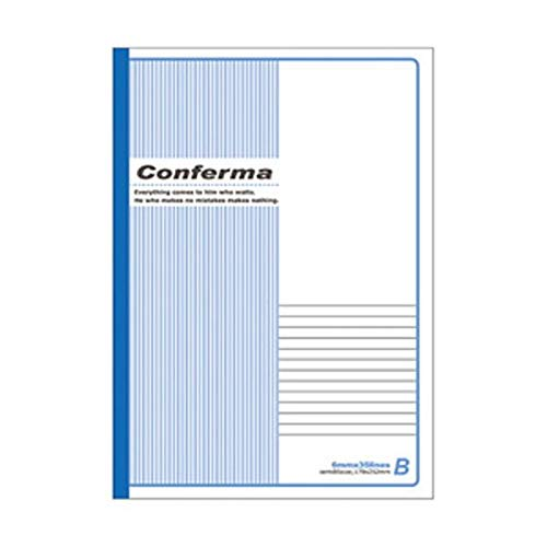 (まとめ)アピカ Conferma B5ノート B罫 1冊(30枚)【×100セット】 生活用品 インテリア 雑貨 文具 オフィス用品 ノート 紙製品 ノート レポート紙 14067381 [並行輸入品] B07S1Y1GX2