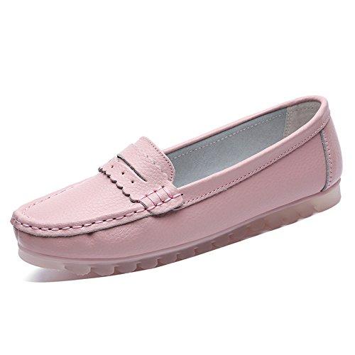 Los Zapatos de Las Mujeres Zapatos de los Guisantes Transpirables Zapatos Perezosos de Fondo Suave Plano Zapatos Casuales