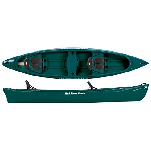 Mad River Adventure 14 Canoe - Spruce by Mad River Canoe