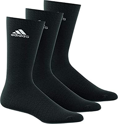 official shop hot new products fashion Adidas Per Crew T 3pp Crew Socks for Unisex - Black/Black ...