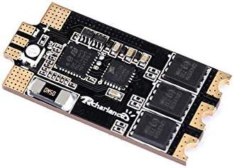 JVSISM Razor32 V2 35A BLheli 32 3-6S DShot1200 ESC avec RGB LED et Capteur de Courant Bidirectionnel pour RC FPV Racing Drone Quadcopter-2Pcs