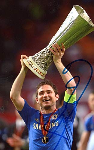 SOCCER Frank Lampard FC CHELSEA autograph, In-Person signed photo - Frank Lampard Chelsea Fc
