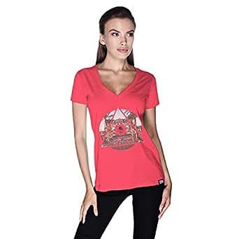 Creo Abu Dhabi T-Shirt For Women - Xl, Pink