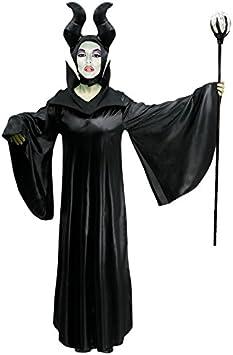 Disfraz Maléfica mujer adulto para Carnaval (M): Amazon.es ...