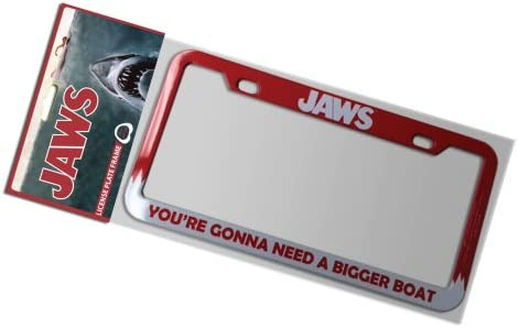 Factory Entertainment Jaws-Gonna Need A Bigger Boat License Plate Frame