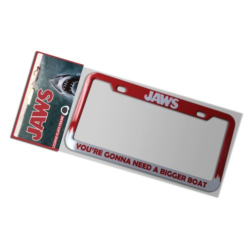 Factory Entertainment Jaws - Gonna Need A Bigger Boat License Plate Frame ()