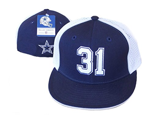 Byron Jones #31 Dallas Cowboys 2015 1st Round Draft Pick Fitted Size 7 Hat Cap (Jones Hat)