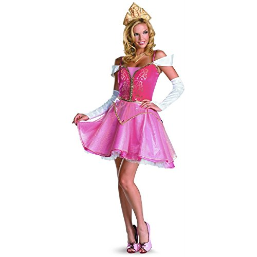 Aurora Costumes For Adults - Aurora Prestige Costume - Large - Dress Size 12-14
