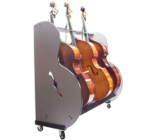 The Band Room Double Bass Cart For Music Classrooms
