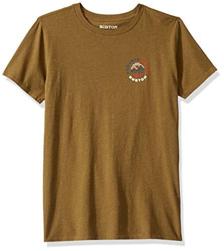 Shirt Short Sleeve Martini - Burton Kids' Coope Short Sleeve Tee, Martini Olive, Medium