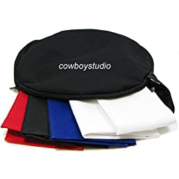 CowboyStudio Table Top Photography Studio Lighting Tent Kit - 1 Tent, 2 Light Kits, 1 Case