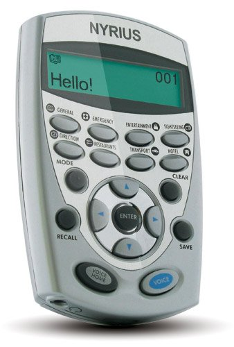 Nyrius LT12 12 Language Global Digital Talking Translator Fo