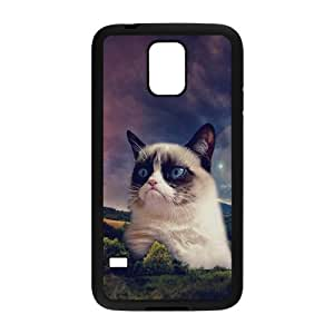 Grumpy Cat Cheshire Cat Durable Protection Fantastic Hard Cover Case For Samsung Galaxy S5 TPU