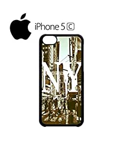 New York NY Retro Mobile Cell Phone Case For Ipod Touch 5 Cover Black