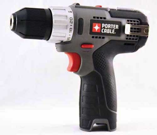 Porter Cable PCL120DD 12V Lithium Ion 3/8'' Cordless Drill Driver (Bare Tool Only - no battery or charger)