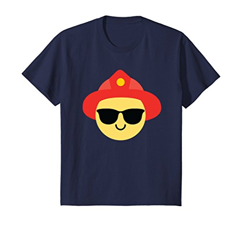 Kids Firefighter Sunglasses Shirt T-Shirt Firemen Tee 12 - Sunglasses Firefighter