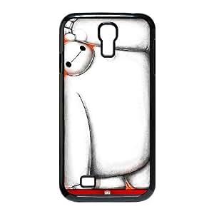 Samsung Galaxy S4 I9500 Phone Case Black Big Hero 6 Baymax ESTY7912409