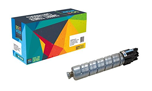 Do it Wiser Compatible Toner Cartridge for Ricoh Aficio MP C2500 MP C3000 - 888639 - Cyan (Ink Savin Blue)
