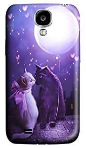 Brian114 Samsung Galaxy S4 Case, S4 Case - Customized 3D Designs Snap-on Case for Samsung Galaxy S4 I9500 Ill Give You The Moon Best Protective Back Case for Samsung Galaxy S4 I9500 WANGJING JINDA