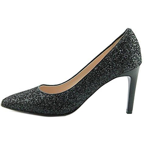 Cole Haan Womens Amela Grand Pump Pointed Toe Classic Pumps Black Glitter RyrjUEB1