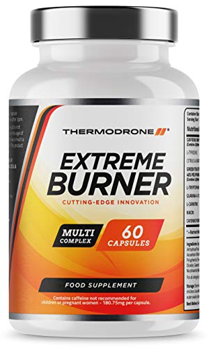 Extreme Burners for Men and Women - 60 Vegetarian Capsules - UK Made -...