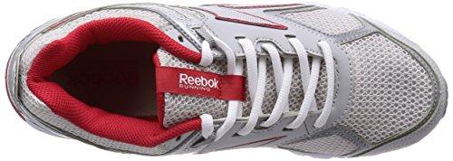 Reebok Pheehan Run 3.0 - - Unisex adulto Gris / Rojo / Blanco