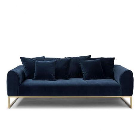 Amazon.com: XIAOSUNSUN Furniture Fabric Sofa Velvet Sofa ...