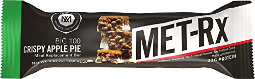 Met-Rx Colossal Crispy Apple Pie Value Pack, 4-3.52 Ounce Bo