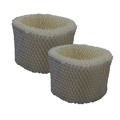Air Filter Factory 2 Pack Compatible Humidifier Wick Filters For Sunbeam SCM1746, SCM1747, SF213 by Air Filter Factory