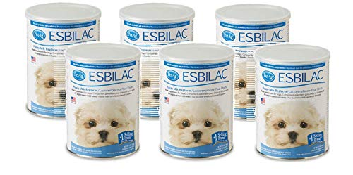 Pet Ag Esbilac Puppy Milk Replacer Powder, 6 Pack, 12 Ounces each