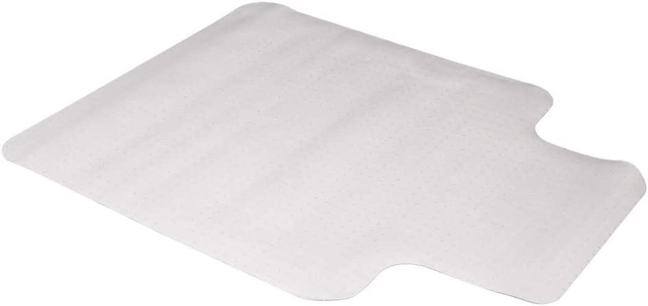 """Goten PVC Protective Mat for Carpet Floor,Transparent Chair Mat with Lip,Home and Office Chair Pads,Size 36""""x48"""""""