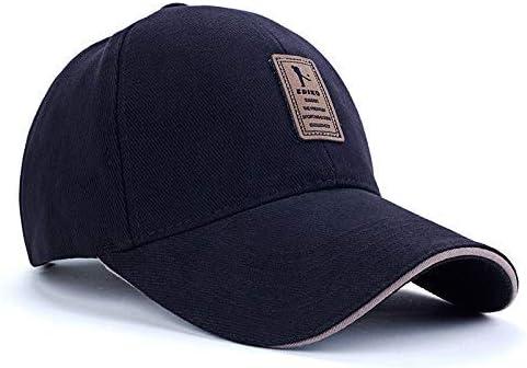 قبعة رياضية سناب باك بتصميم بسيط ولون موحّد مناسبة لرياضة الجولف والبيسبول والاماكن المفتوحة