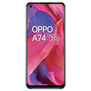 OPPO A74 5G (Fantastic Purple,6GB RAM,128GB Storage) – 5G Android Smartphone | 5000 mAh Battery | 18W Fast Charge | 90Hz…