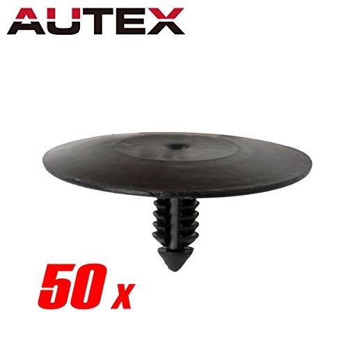 - PartsSquare 50pcs Fender Liner Fastener Rivet Push Clips Retainer Compatible with Buick/Cadillac/Oldsmobile/Pontiac/Chevrolet/GMC