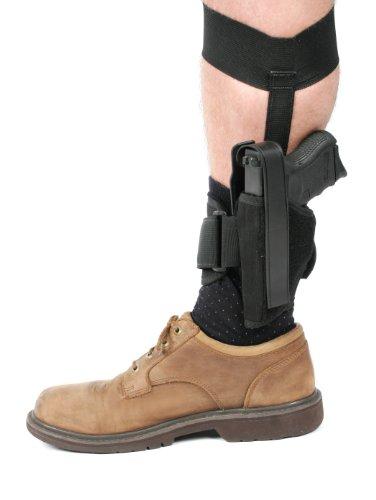 BLACKHAWK! Ankle Holster, Black/Size 01, Left Hand from BLACKHAWK!
