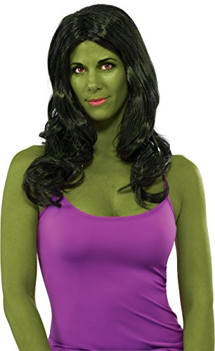 She Hulk Halloween Costumes (Rubie's Costume She-Hulk Adult Wig)