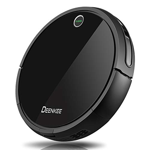 DEENKEE i7 Robot Vacuum Cleaner [Mopping, Sweeping & Vacuuming], Smart Self-Charging Robotic Vacuum Automatic Sweeper with Remote for Pet Hair, Carpet, Hardwood Floors, Tile