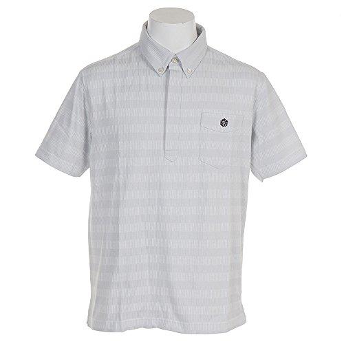 エピキュール(エピキュール) 半袖ポロシャツ EP37LG06 WGR (ホワイト×グレー/L/Men's)