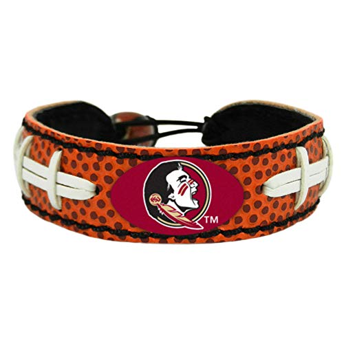 Florida State Seminoles Classic Gamewear Football Bracelet---(Package of 2) (Bracelet Classic State Football)