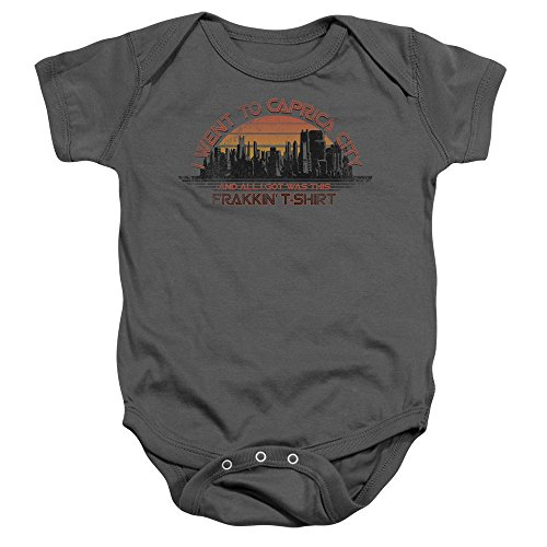 Caprica City -- Battlestar Galactica -- Infant One-Piece Snapsuit, 12 Months - Battlestar Galactica Caprica City