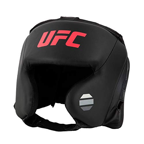 UFC Synthetic Leather Training Head Gear Boxing Head Gear, Black ()